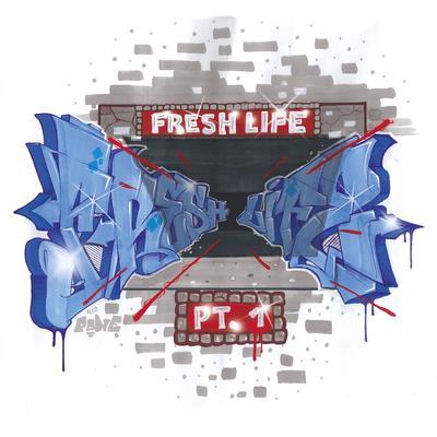 Das Cover des 1. Samplers von Fresh Life Records