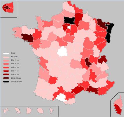 Corona Frankreich Karte Aktuell