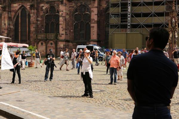 Münsterplatz am 13. 06. 2020