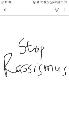 Stop Rassismus