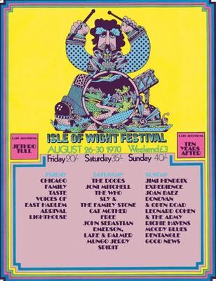 Isle of wight festival 1970