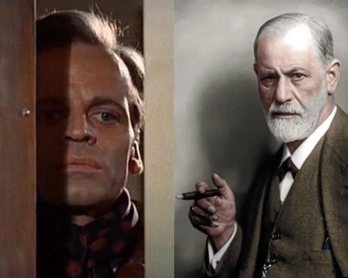 Klaus Kinsky & Sigmund Freud