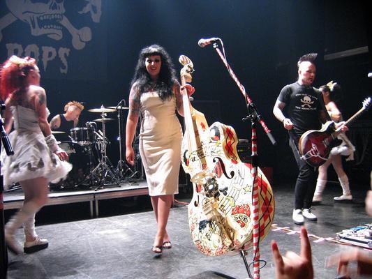 Die dänischen HorrorPops live in Montreal 2006