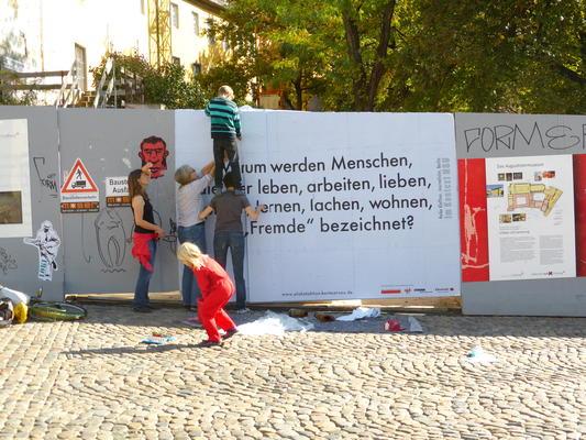 Intergenerationelle antifaschistische Aktion 2015