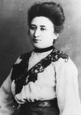 ADN-ZB Rosa Luxemburg, führende linke Sozialdemokratin, Mitbegründerin der KPD, geb. 5.3.1871 in Zemosé ermordet am 15.1.1919 in Berlin