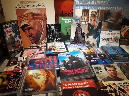 über 50 Jahre Filmmusik kommt zusammen