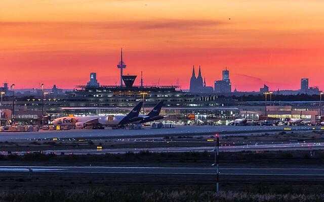 Der Kölner Flughafen