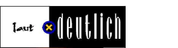 Logo Laut und Deutlich