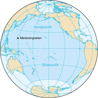 Pazifik-Karte