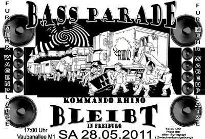 BASS_PARADE_-_Kommando_Rhino_BLEIBT