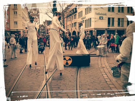 Anti-Atom Demo 09.März in Freiburg