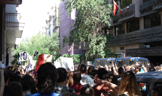 Proteste vor türkischer Botschaft - Foto: RDL/PE