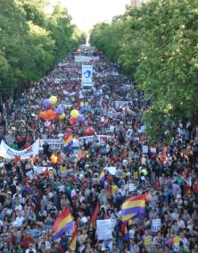 Abschlusskundgebung in Madrid - Foto: RDL/PE