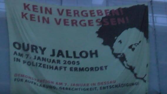 Demotranspi Oury Jalloh   Quelle indymedia