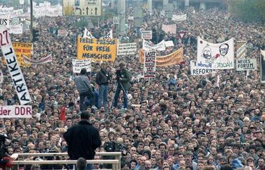 Demonstration in Berlin, 4. November 1989