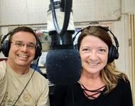 Moderationsduo Dieter und Sylvia