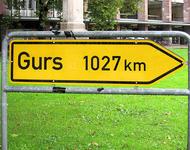 Das Mahnmal für die nach Gurs/Frankreich deportierten Freiburger Jüd*innen