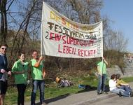 Greenpeace Demo Fessenheim März 2014