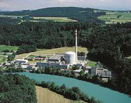AKW Mühleberg bei Bern in der Schweiz