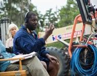 Regisseur Steve McQueen bei den Dreharbeiten zu 12 Years a Slave