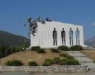 Gedenkstätte für das SS-Massaker in Distomo, Griechenland