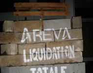 Protest an Areva Filiale in Rennes