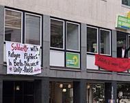 Besetzung des Grünen Büros in München