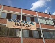 Besetztes Haus in Madrid