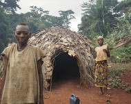 Baka Haus in Kamerun