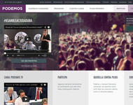 Screenshot von podemos.info