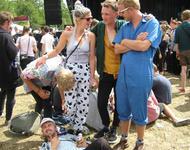 Tidlige Armbånd auf dem Roskilde-Festival