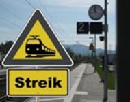 Streik bei der Bahn