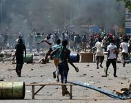 Aufstand in der Hauptstadt Ouagadougou