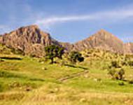 Landschaftsaufnahme Kurdistan