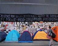 Zelten in Hongkong