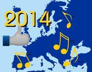 Musikalische Karte Europas