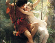 Pierre Auguste Cot - Spring 1873