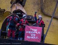 Greenpeace besetzt Bohrplattform