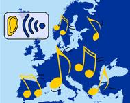Piktogramm: Nachhören der Sendung MusikVote Vielfalt Europa