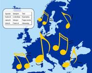 Piktogramm: Musik-Playlist für Europa