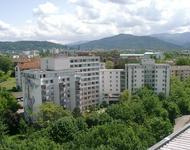 Die Studierendensiedlung am Seepark, das größte Wohnheim des Freiburger Studierendenwerks
