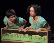 Marion Dieterle und Emily Welther