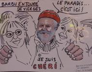 Skizze bzw. Karikatur aus Metz