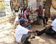 John Bwakali mit Dandora Hip Hop Youth im Interview