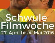 Schwule Filmwoche Freiburg 2016 Plakat
