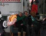 RDL Mittendrin - Im Vordergrund das Highlight eines jeden DGB-Fests