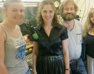 Hilly, Sofie, Lisa vom JugendKunstParkour