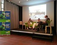 Diskussion über das Künstlerquartier Schildacker