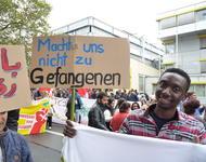 Bei der Demo von 1.Oktober in Heidelberg