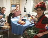 Betty BBQ im Studio bei der Schwulen Welle
